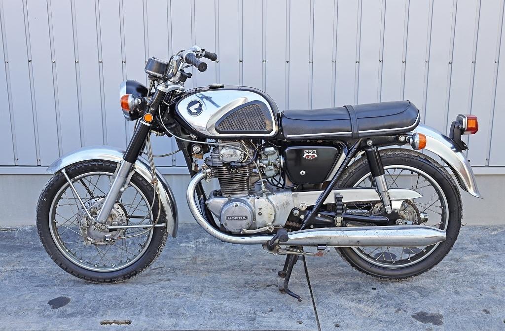 「8580C20 直接引取限定 HONDA ホンダ バイク CB250 自動二輪」の画像2