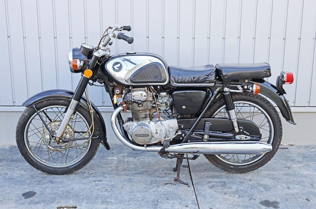 「8579C20 直接引取限定 HONDA ホンダ バイク CD250 自動二輪 旧車 絶版」の画像2