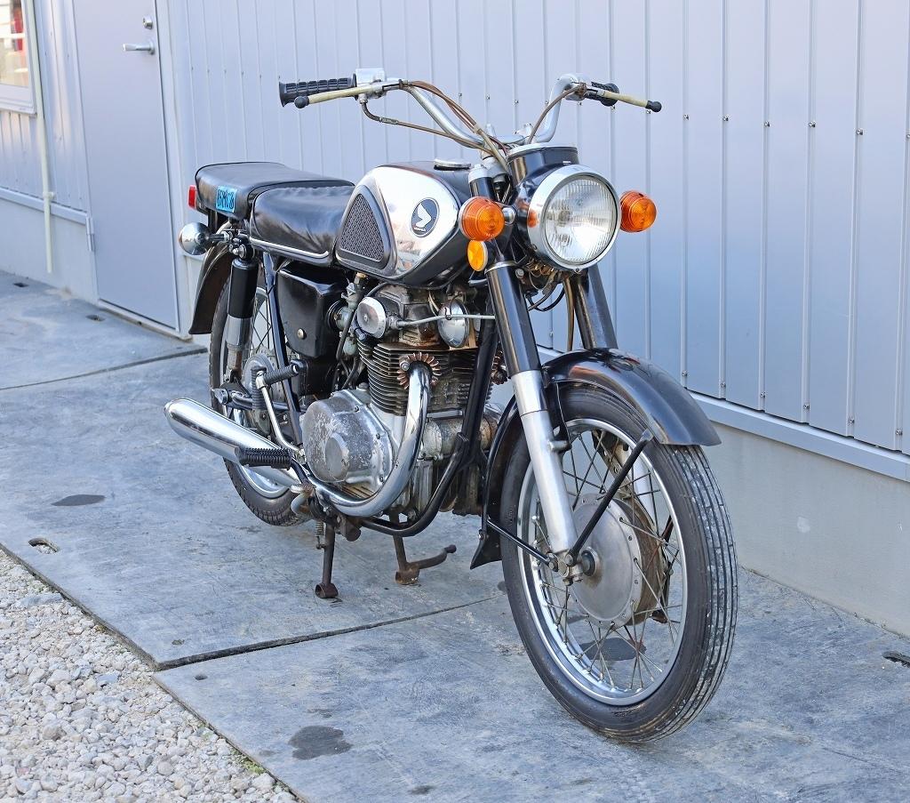 「8579C20 直接引取限定 HONDA ホンダ バイク CD250 自動二輪 旧車 絶版」の画像3