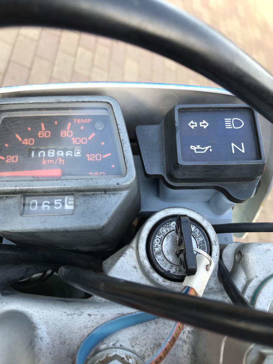 ヤマハ DT200WR 3XP 低走行 キャブ等整備済 好調自走引き取り可 車両交換可 社外サイレンサー 軽量2ストオフ 人気のエンデューロ モタード_画像2