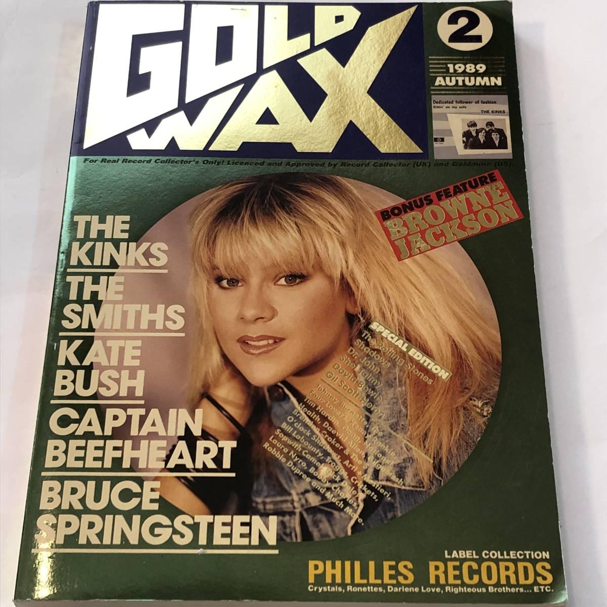即決 ゴールド・ワックス1989 No.2 THE KINKS ザ・キンクス/ケイト・ブッシュ/キャプテン・ビーフハート/デヴィッド・ボウイ