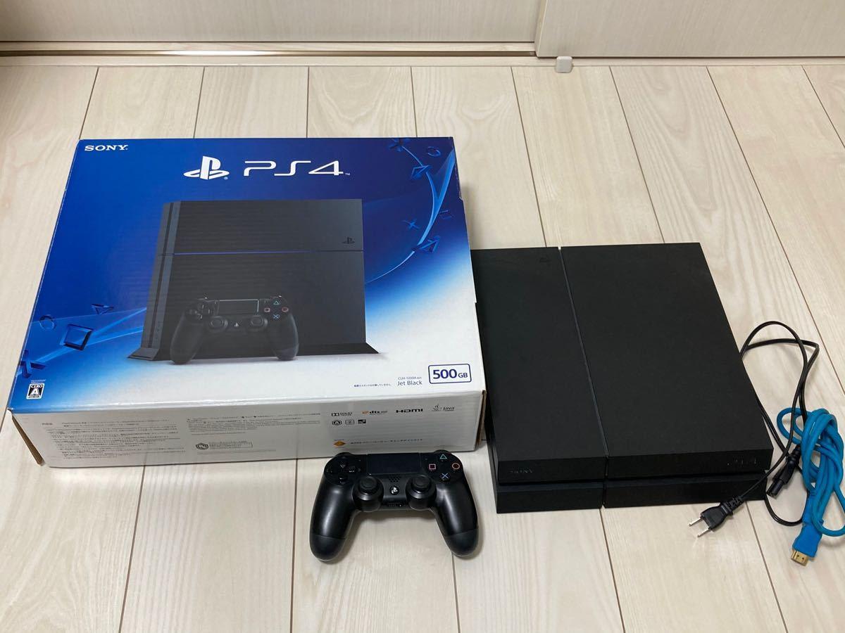 PlayStation4 ジェット・ブラック 500GB CUH-1200
