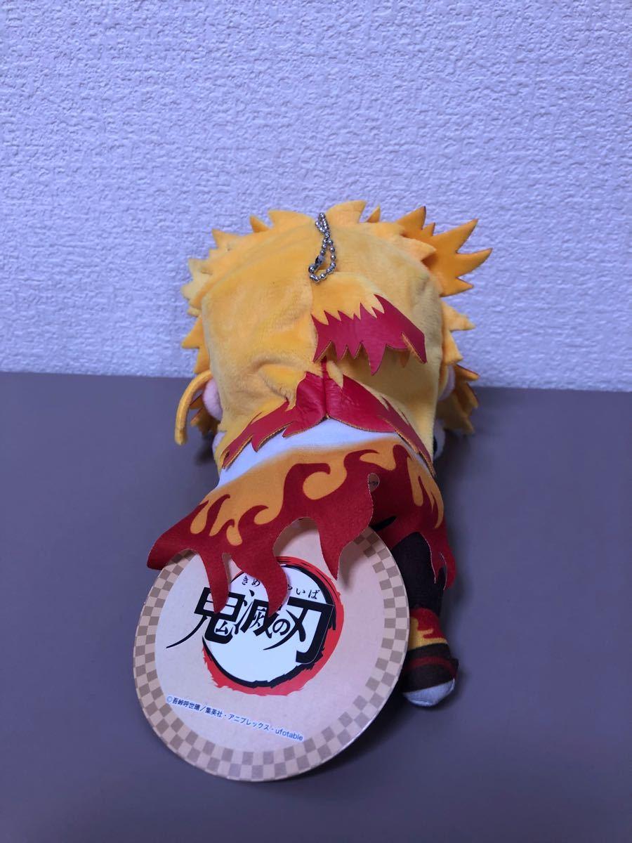 鬼滅の刃 ワーコレ フィギュア エクストラ寝そべりぬいぐるみ 煉獄杏寿郎