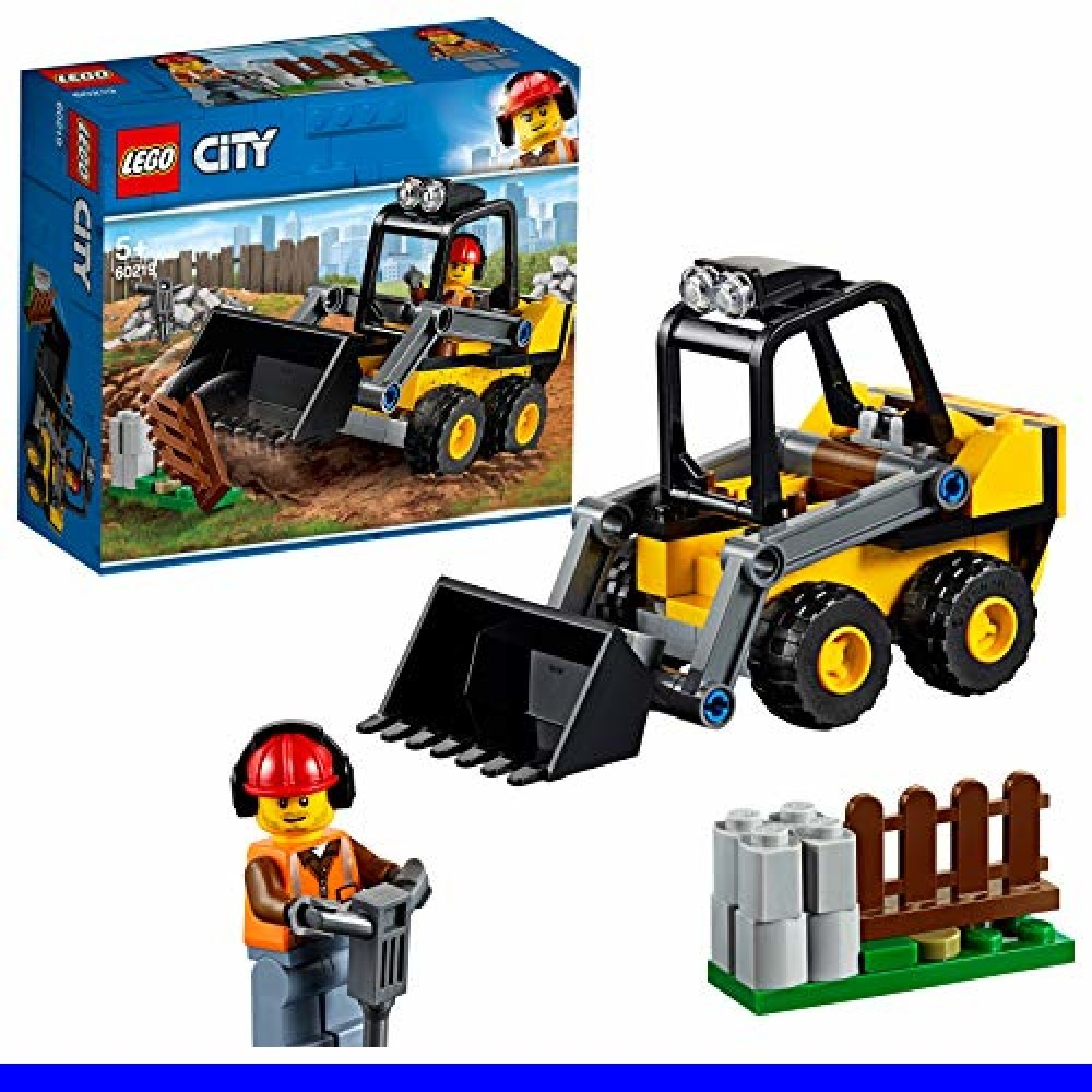 ■即決・レゴ(LEGO) シティ 工事現場のシャベルカー 60219 ブロック おもちゃ 男の子 車_画像1