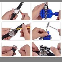☆即決・SHiZAK 時計修理工具セット 腕時計工具キット 腕時計修理工具セット ウォッチツール 時計工具セット 腕時計ベル_画像5
