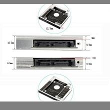 ☆即決・CHN-DC-2530PE-9.5 Zheino 2nd 9.5mmノートPCドライブマウンタ セカンド 光学ドライ_画像6