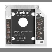 ☆即決・CHN-DC-2530PE-9.5 Zheino 2nd 9.5mmノートPCドライブマウンタ セカンド 光学ドライ_画像2
