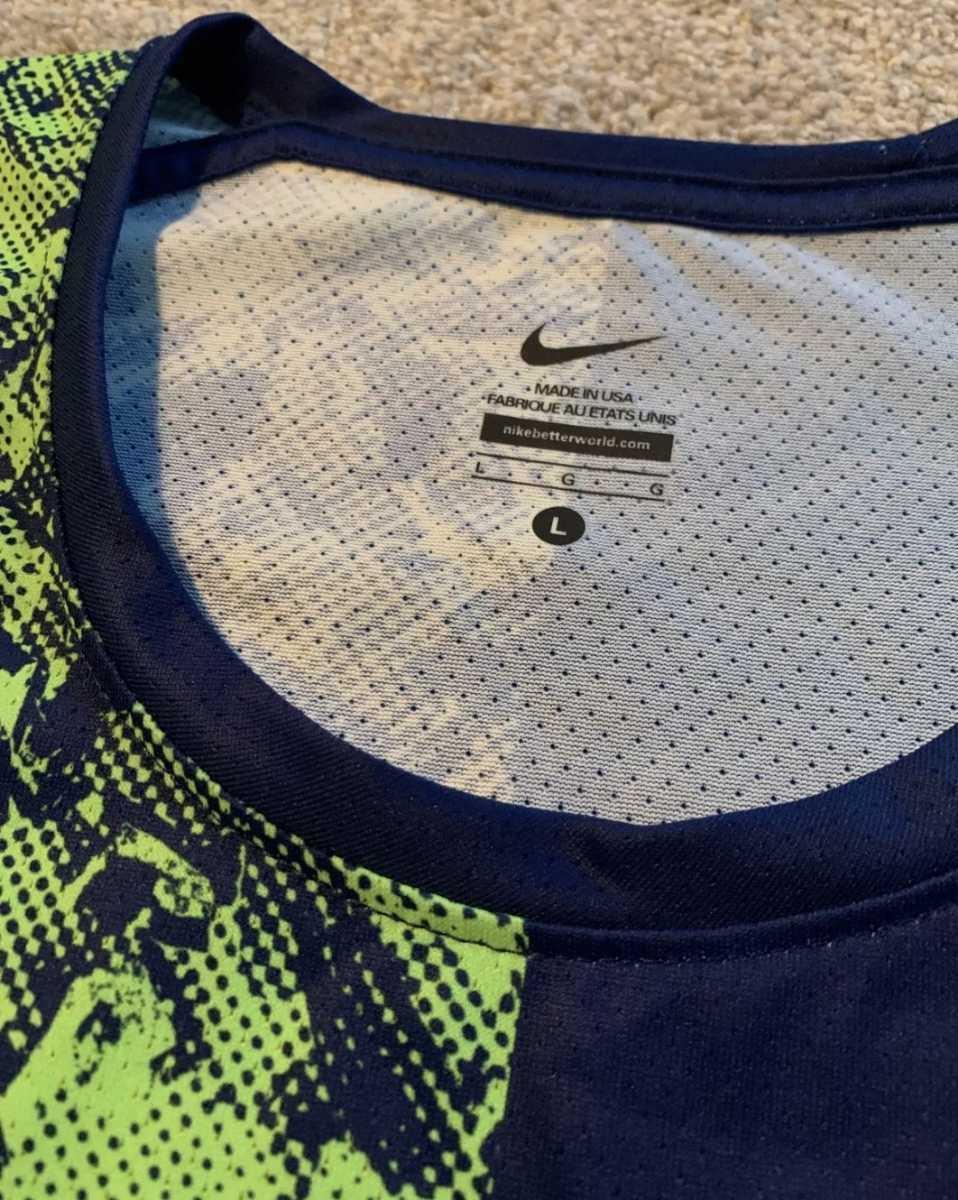 Men Nike Pro Elite Sponsored 2019 Singlet Track / Field Running AJ5943 Size L ナイキ プロエリートオレゴンプロジェクト大迫傑