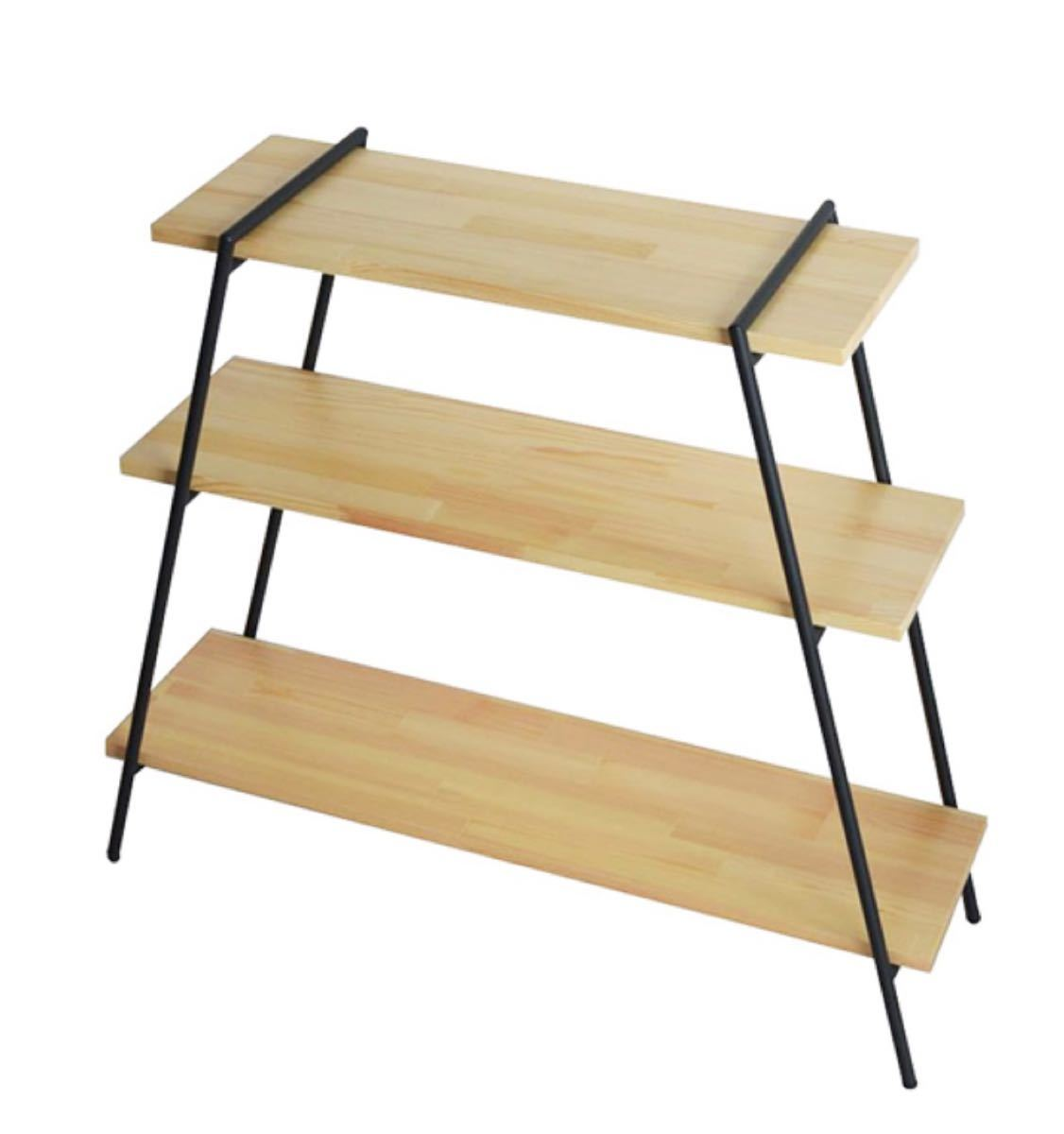 テーブルラック鉄脚