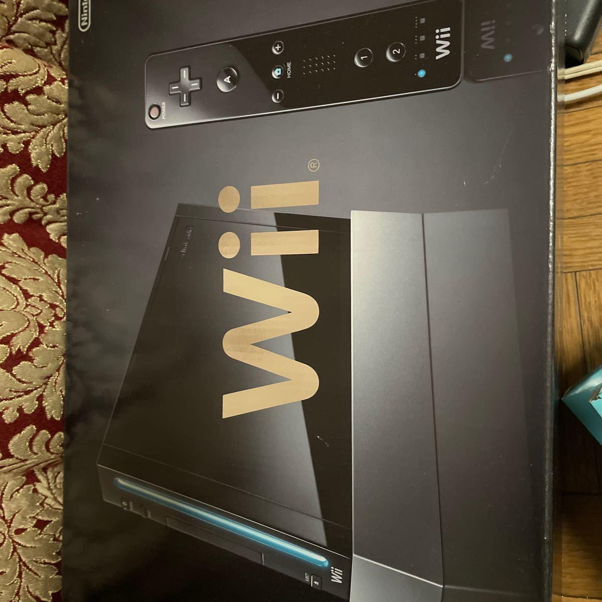 ニンテンドーWii 任天堂 クロ Wii