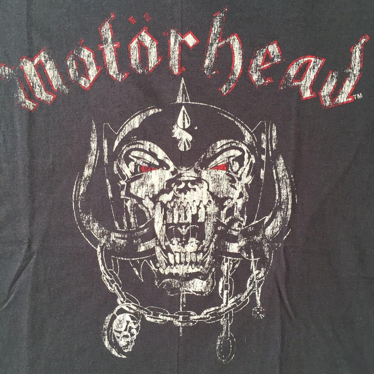 バンドTシャツ    モーターヘッド (Motor Head) 新品M_画像2