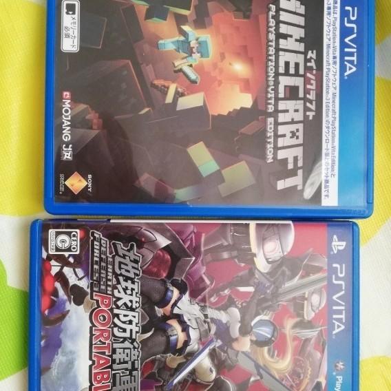 PSVita Minecraft 地球防衛軍3 PS Vita