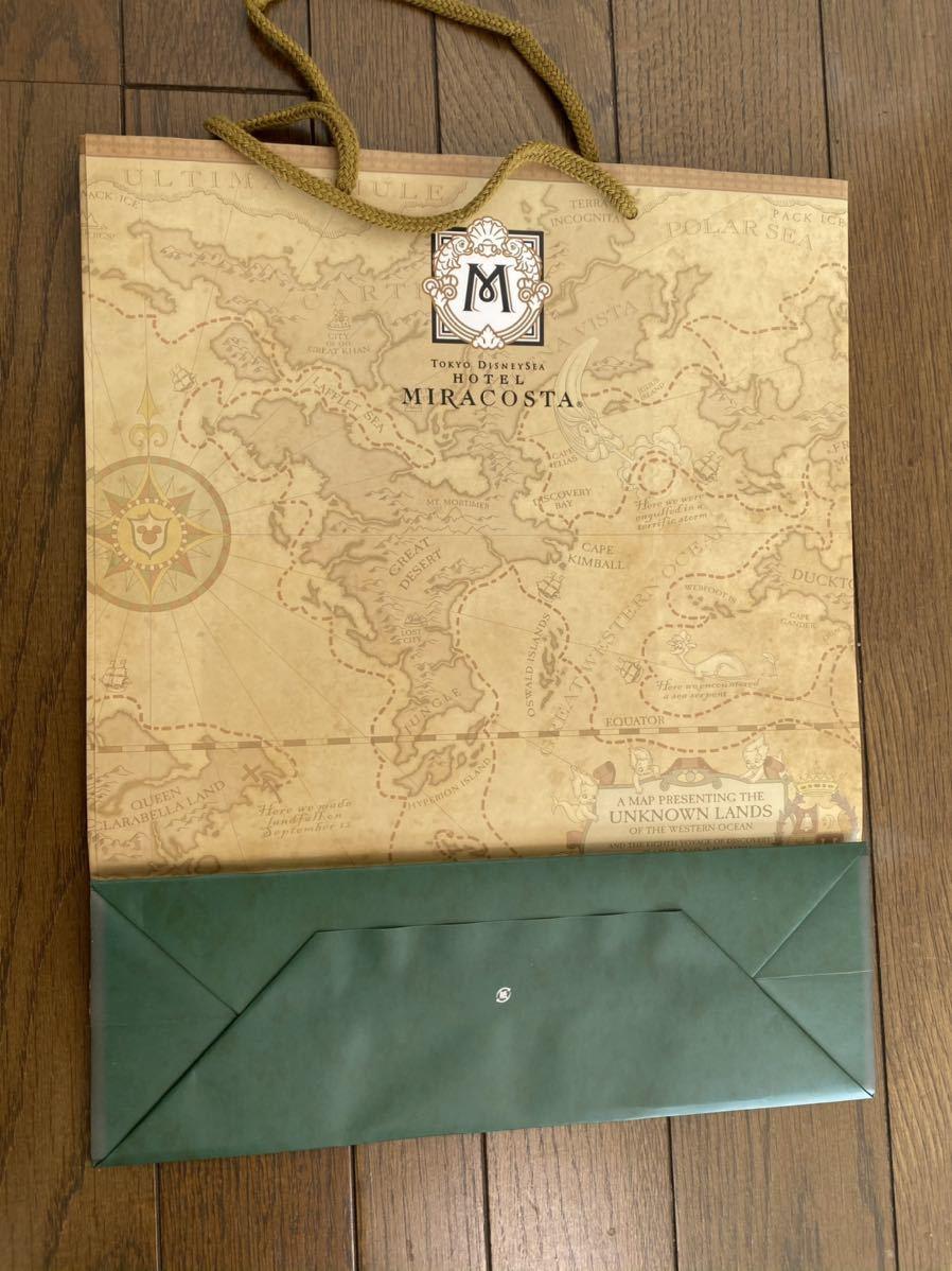 5枚セット ミラコスタ 東京ディズニーシー ショップ袋 TDR 非売品 ショッパー ショッピングバッグ ギフトバッグ TDS_画像3
