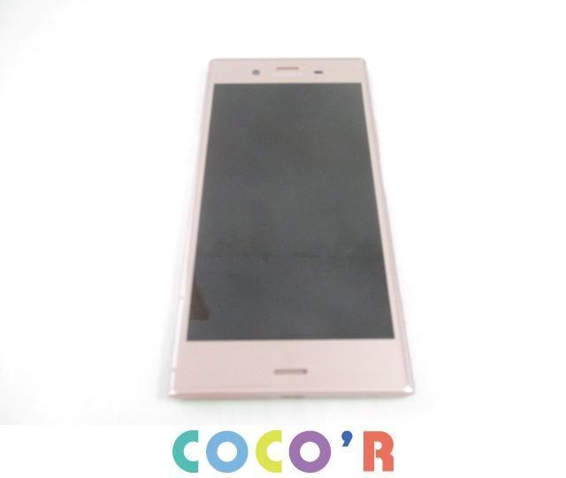 【同梱可】良品 NTTドコモ スマートフォン本体 SONY SO-01K Xperia XZ1 ピンク 判定○ 白ロム_画像1