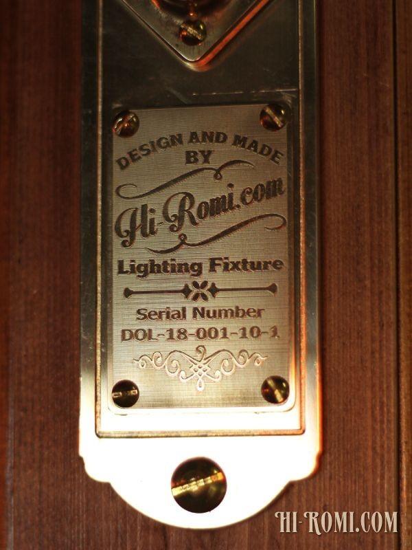 [ワンオフ・少量生産]インダストリアル工業系ウッド&ブラスブラケットライト 木製&真鍮壁掛け照明ウォールランプレトロ照明店舗什器_シリアル番号は1点ずつ異なります