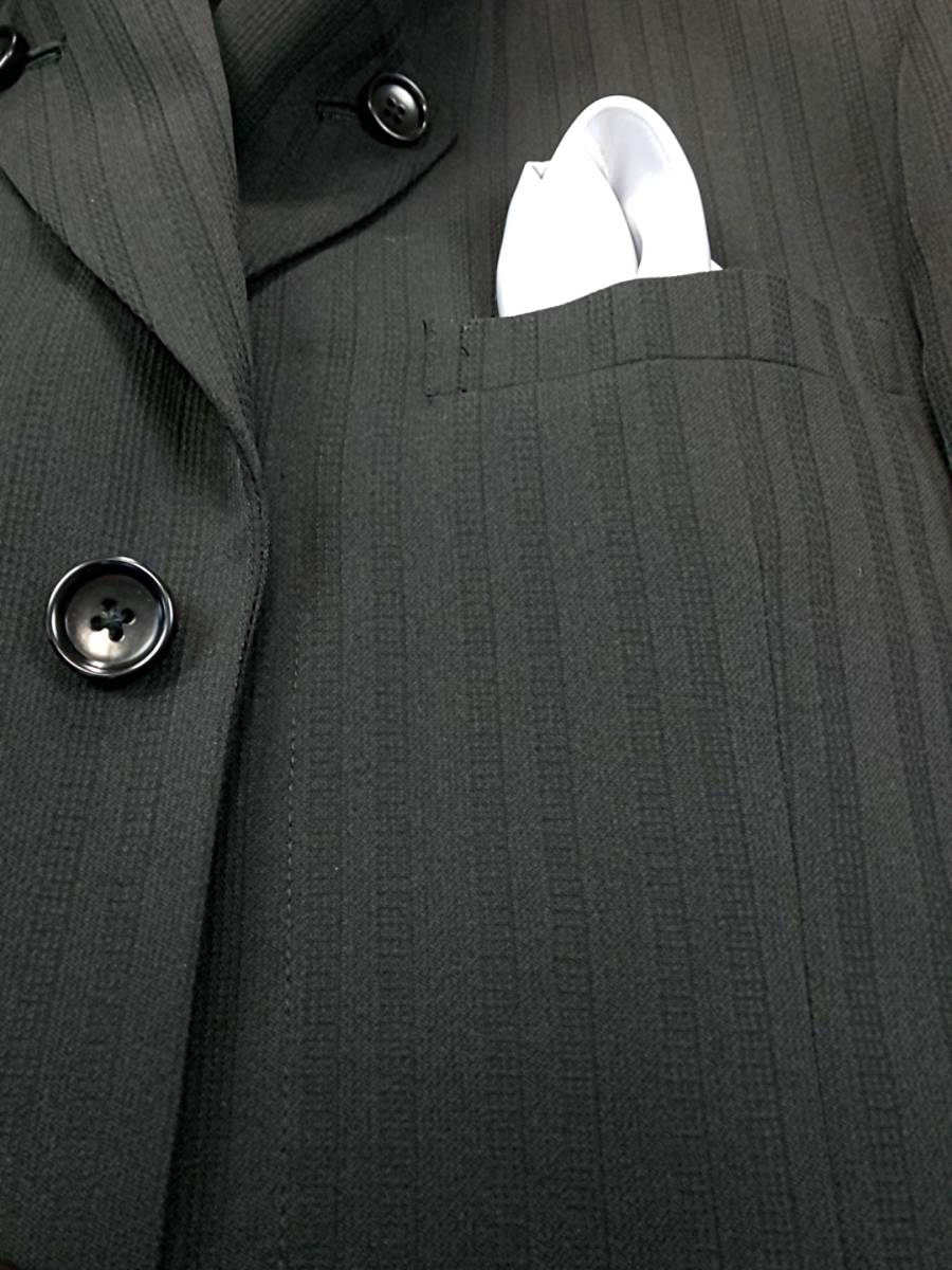 新品 SALE!! 特別価格!! 送料無料 l'garage マオカラースーツ スリータック Sサイズ ゆったり パーティー 結婚式 ステージ衣装 34112-2_画像4