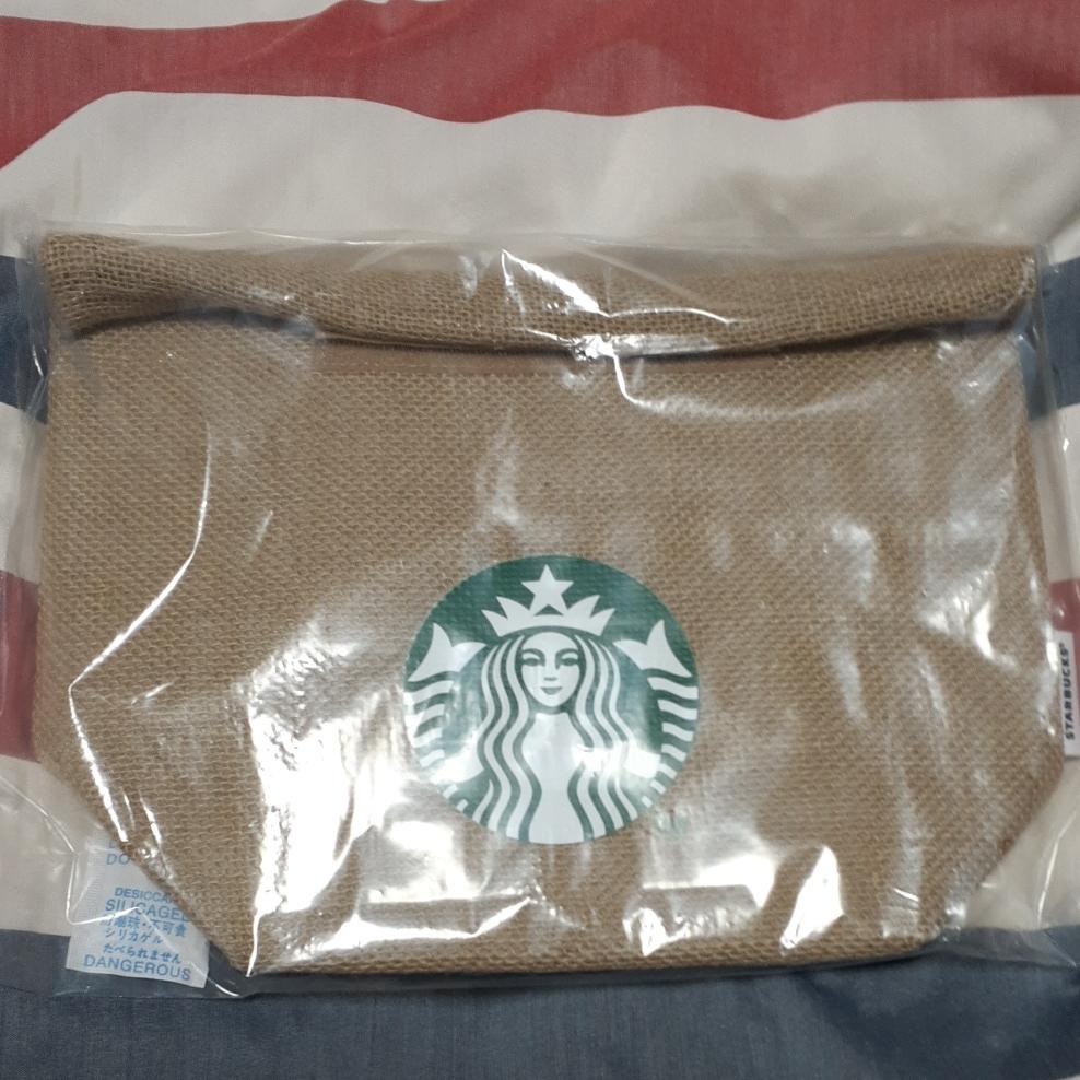 2021福袋スターバックス ジュートランチバック 保冷 保冷バッグ STARBUCKS ミニトート