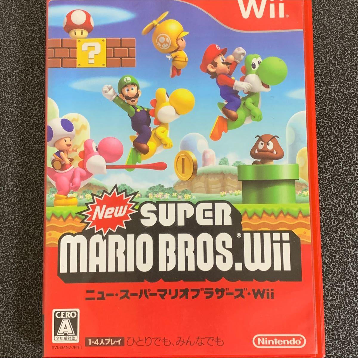 Wiiソフト NewスーパーマリオブラザーズWii ニュースーパー マリオブラザーズSUPER MARIO BROS.任天堂Wii