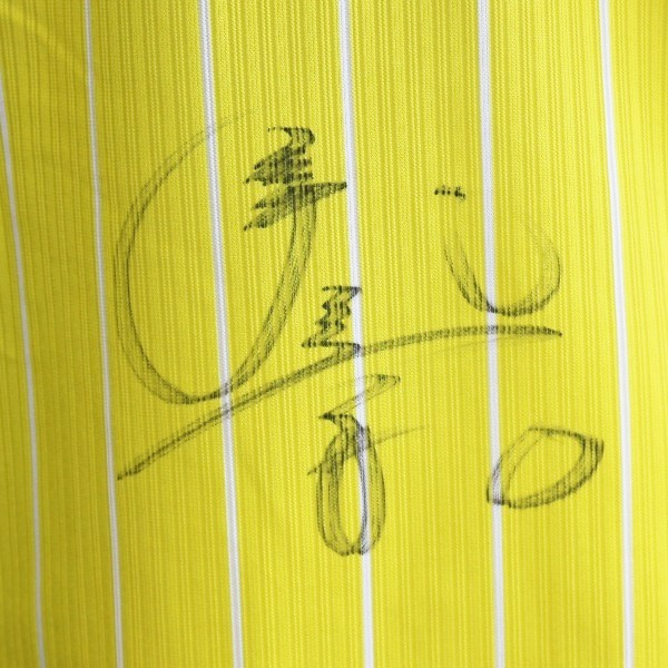 [チャリティ]福岡ソフトバンクホークス 髙田選手 鷹の祭典2020専用ユニフォーム_画像4