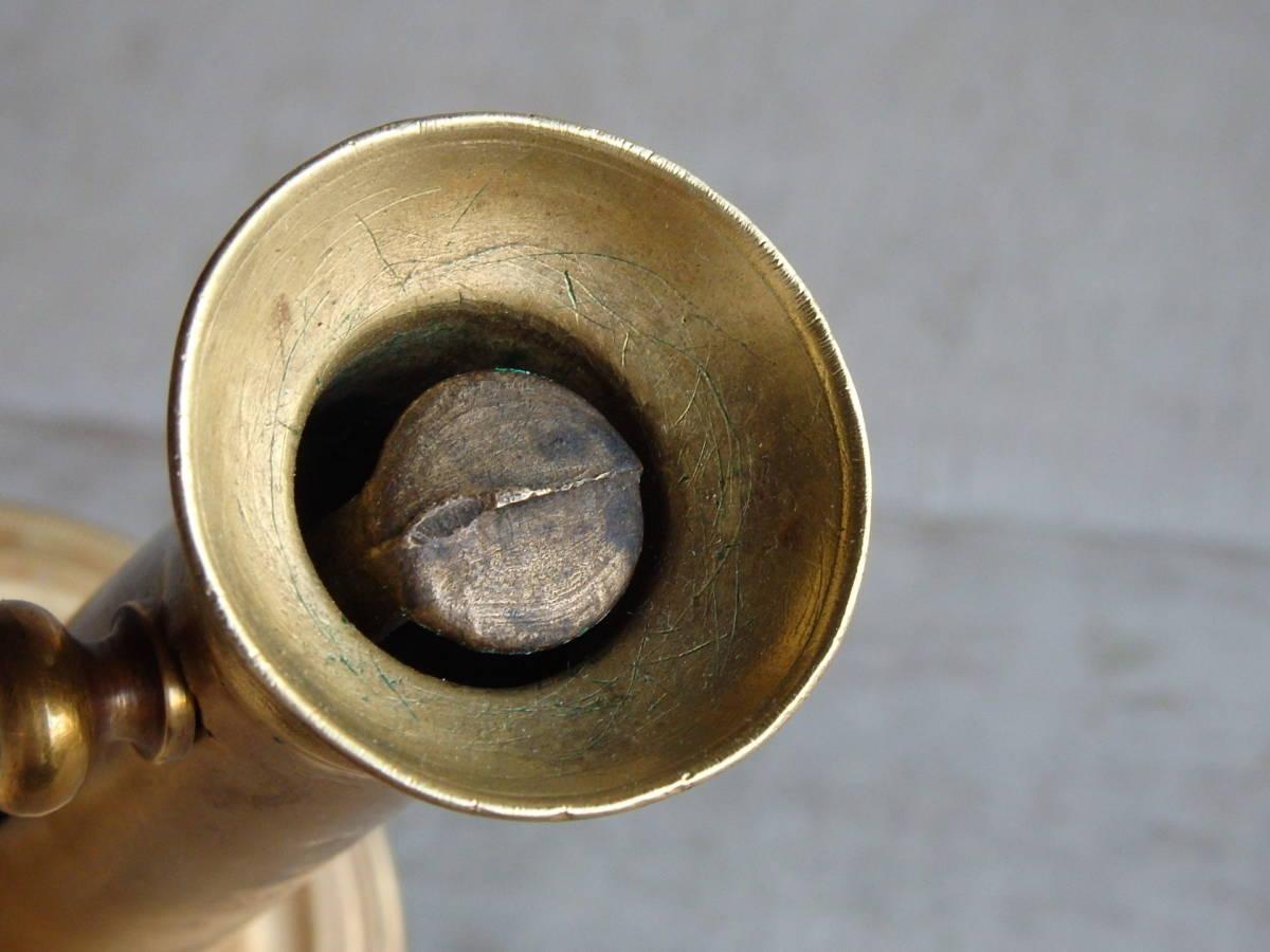 フランスアンティーク キャンドルスタンド ブロンズ 青銅 ゴールド 蝋燭立て 燭台 ブロカント 蚤の市 上下可動 インテリア _画像5
