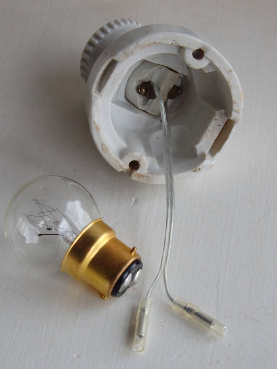 フランスアンティーク 陶器 ライト 壁付け ウォール インダストリアル アトリエ 工業系 ランプ 電気 照明 蚤の市 ブロカント_画像7