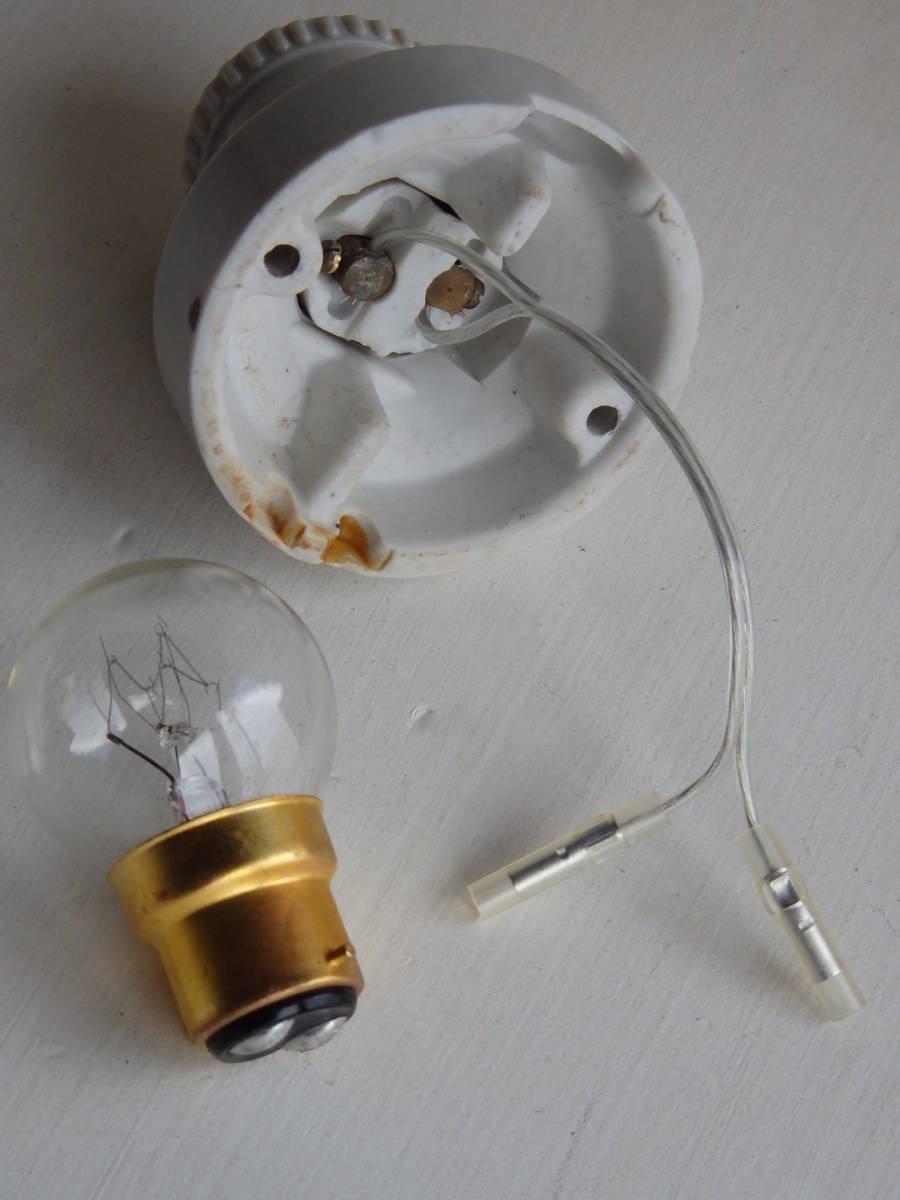 フランスアンティーク 陶器 ライト 壁付け ウォール インダストリアル アトリエ 工業系 ランプ 電気 照明 蚤の市 ブロカント 白_画像7