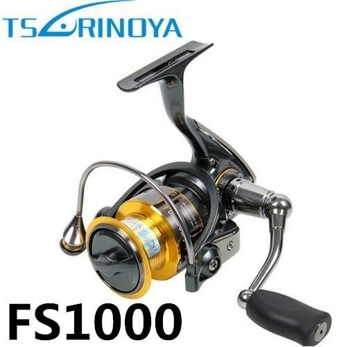 S4038 tsurinoya fs 800 1000 2000超軽量スプール鯉釣りスピニングリールサーフィン餌淡水塩水リール_画像6