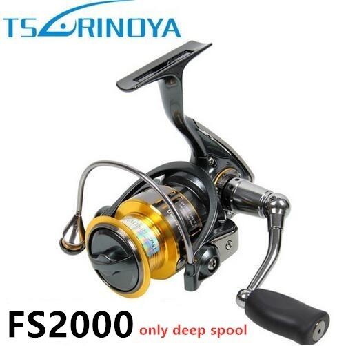 S4038 tsurinoya fs 800 1000 2000超軽量スプール鯉釣りスピニングリールサーフィン餌淡水塩水リール_画像7