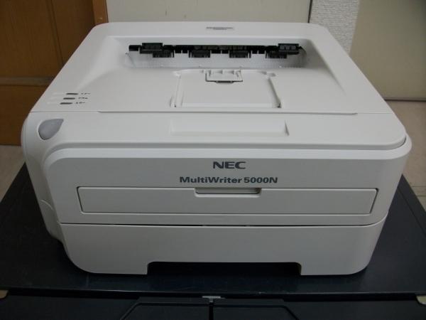 ★【ジャンク】中古レーザープリンタ《NEC MultiWriter 5000N》トナー/ドラムなし★_画像1