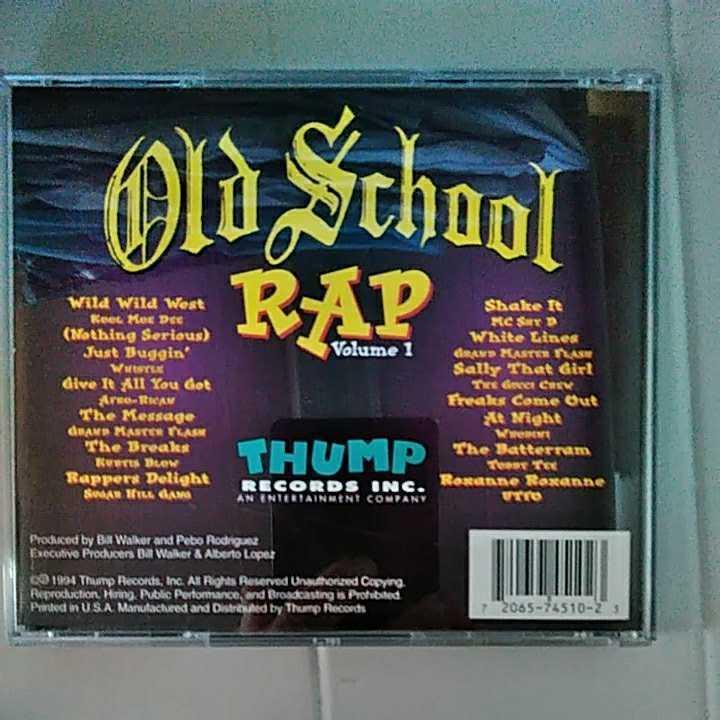 【hip hop / Rap / 送料込み】OLD SCOOL volume 1
