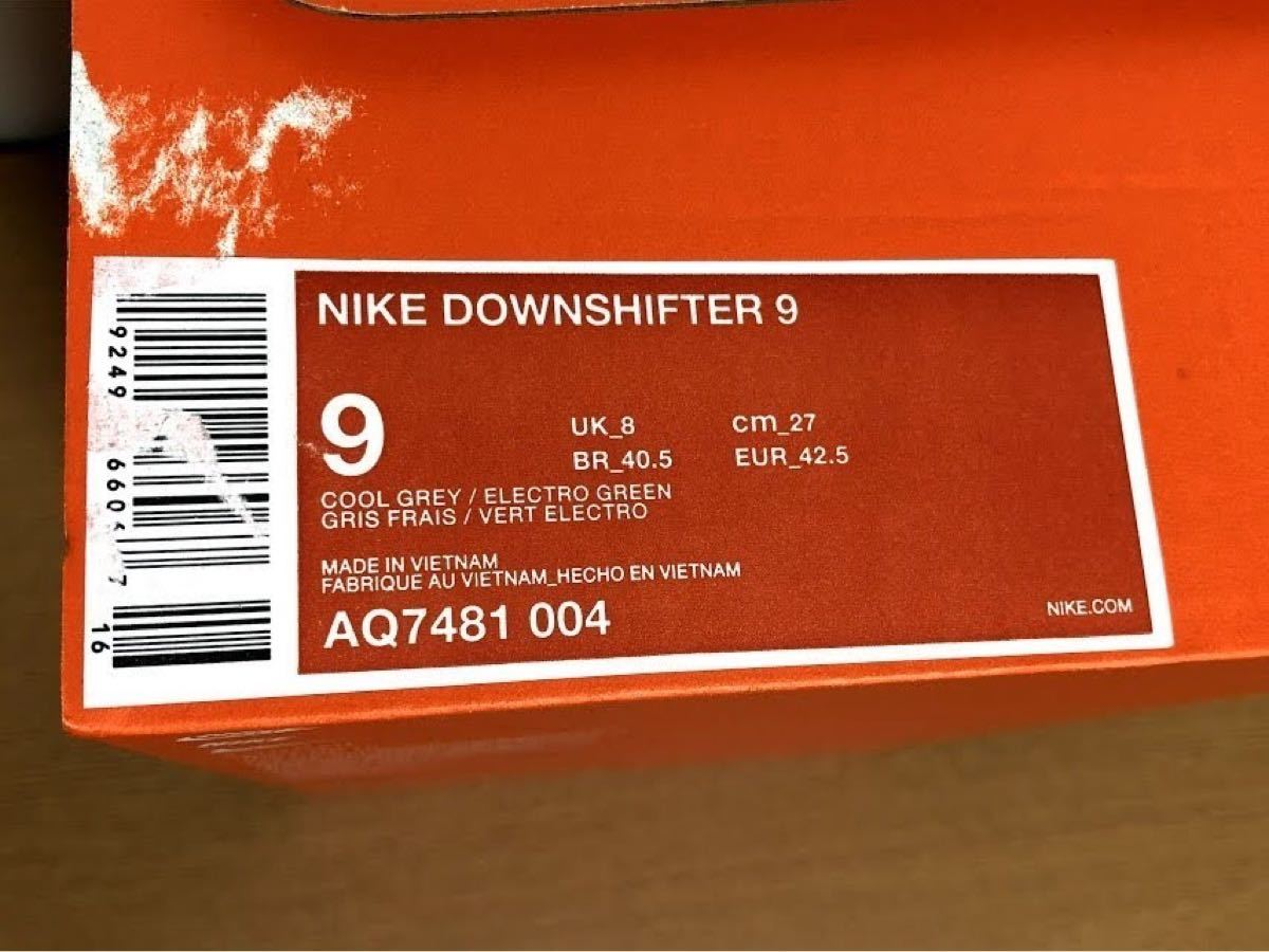 NIKE (ナイキ) ランニング メンズジョギングシューズ ナイキ ダウンシフター 9 AQ7481-004  27cm