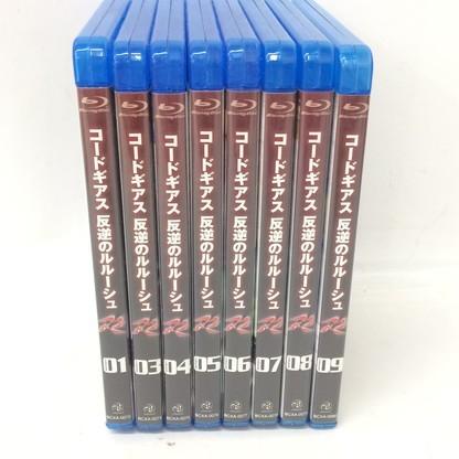 f009*80 【現状品/傷汚れ有】 Blu-ray コードギアス 反逆のルルーシュ R2 01~09 まとめ売り_画像1