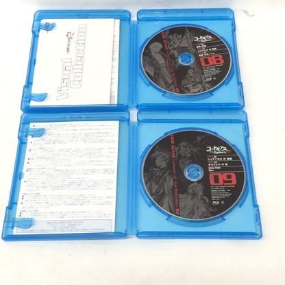 f009*80 【現状品/傷汚れ有】 Blu-ray コードギアス 反逆のルルーシュ R2 01~09 まとめ売り_画像9