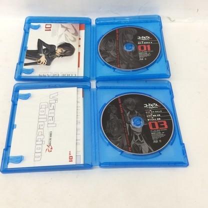 f009*80 【現状品/傷汚れ有】 Blu-ray コードギアス 反逆のルルーシュ R2 01~09 まとめ売り_画像3