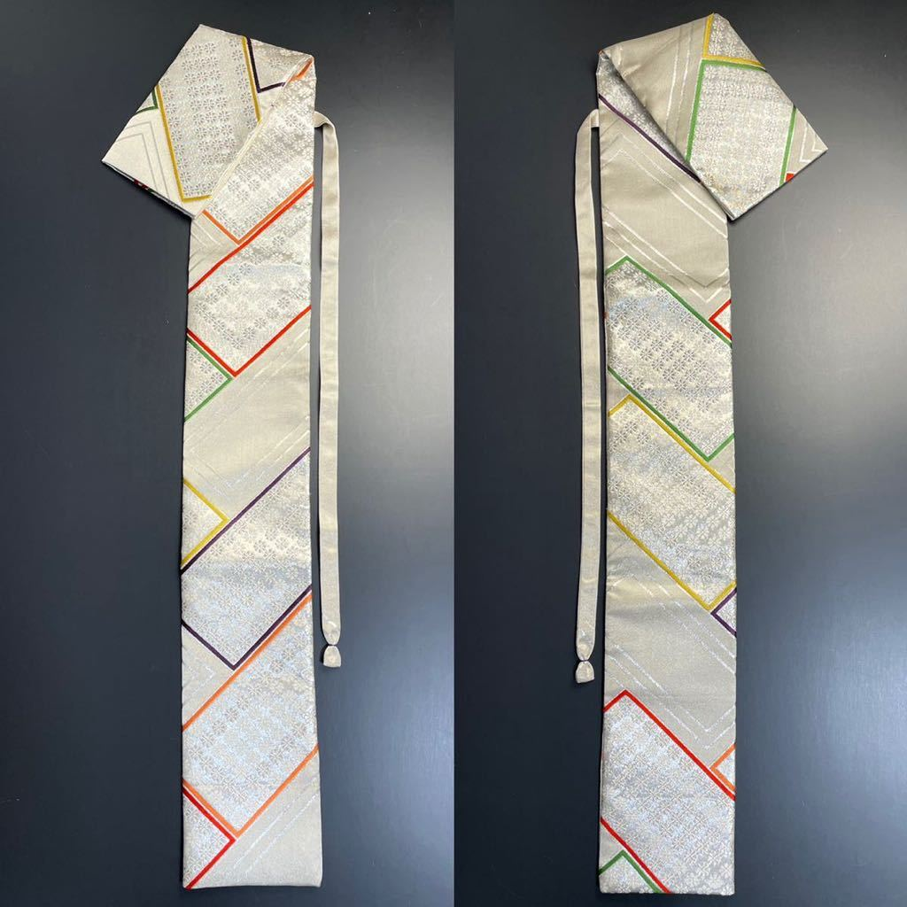 限定2本 日本刀 太刀 刀 刀袋 豪華 銀彩 華紋 刀袋 職人ハンドメイド 100%正絹使用 一点物 A-10_画像9