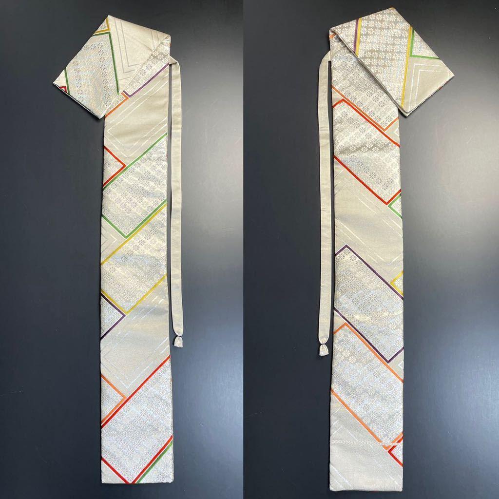 限定2本 日本刀 太刀 刀 刀袋 豪華 銀彩 華紋 刀袋 職人ハンドメイド 100%正絹使用 一点物 A-11_画像9