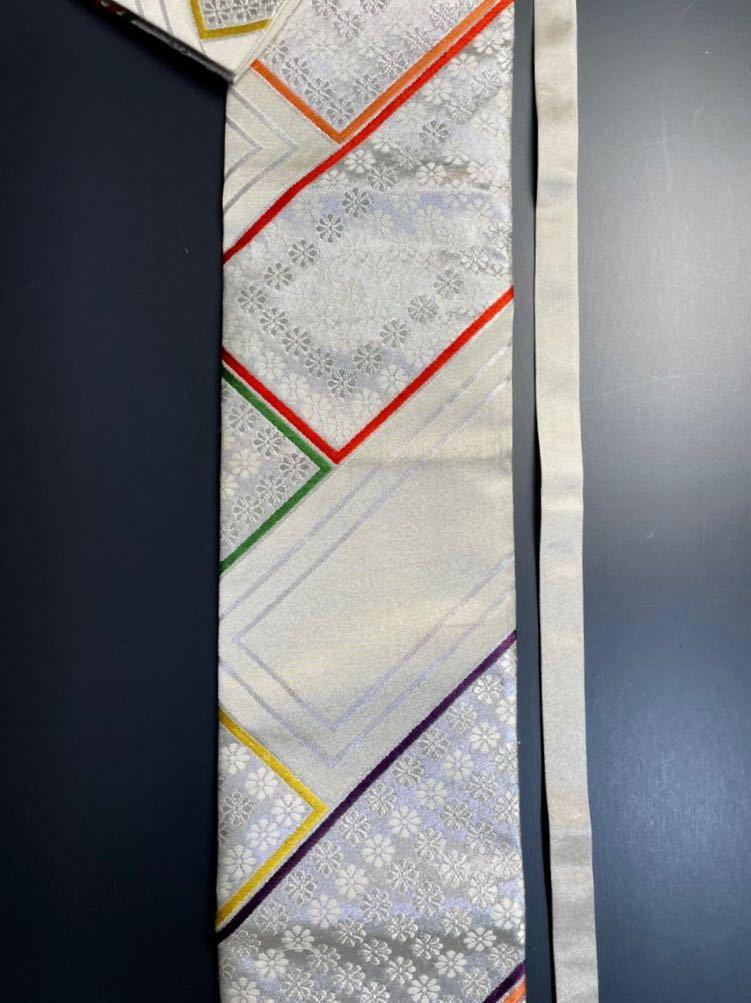 限定2本 日本刀 太刀 刀 刀袋 豪華 銀彩 華紋 刀袋 職人ハンドメイド 100%正絹使用 一点物 A-10_画像3