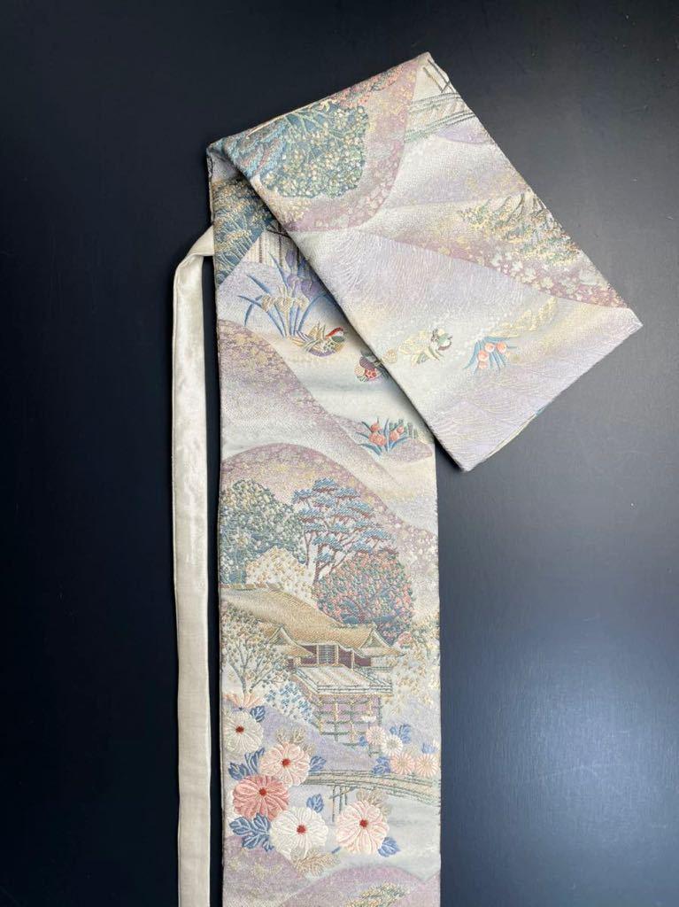 限定2本 日本刀 太刀 刀 刀袋 豪華 九百錦 古都春秋紋 職人ハンドメイド 100%正絹使用 一点物 ox-2_画像6