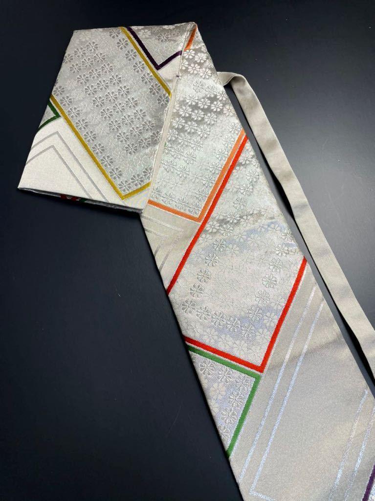 限定2本 日本刀 太刀 刀 刀袋 豪華 銀彩 華紋 刀袋 職人ハンドメイド 100%正絹使用 一点物 A-10_画像1