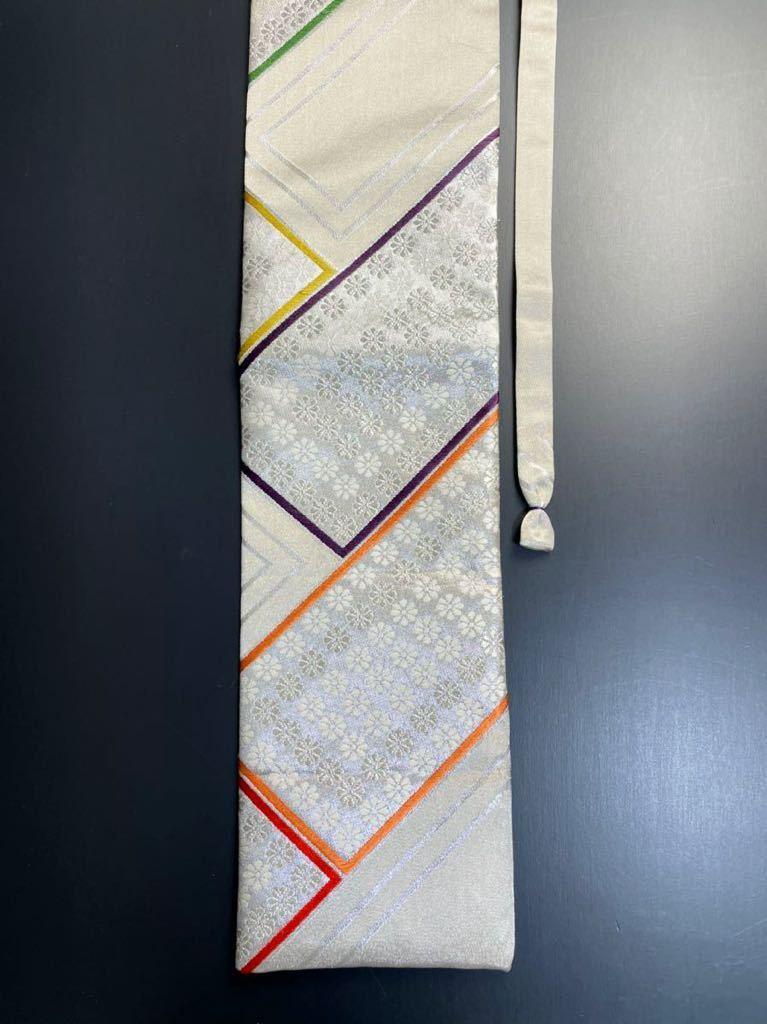 限定2本 日本刀 太刀 刀 刀袋 豪華 銀彩 華紋 刀袋 職人ハンドメイド 100%正絹使用 一点物 A-10_画像4