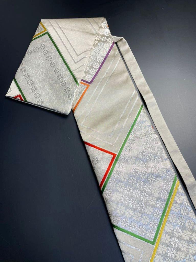 限定2本 日本刀 太刀 刀 刀袋 豪華 銀彩 華紋 刀袋 職人ハンドメイド 100%正絹使用 一点物 A-11_画像1