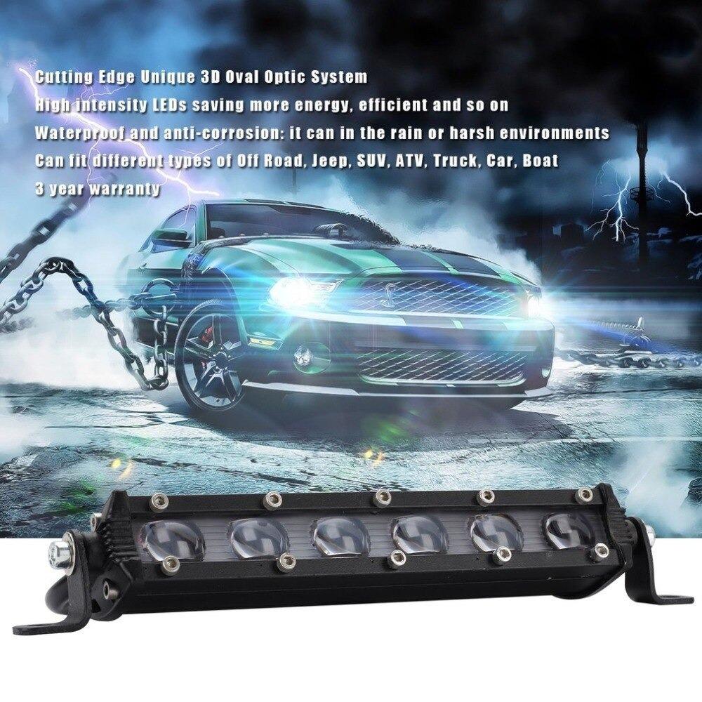新 8 120w 車の Led ワークライトバー車スポットビームヘッドライトオフロード 4WD SUV ドライビングフォグランプボート_画像3