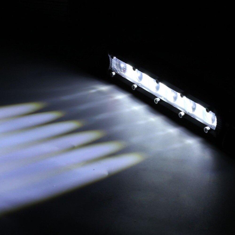 新 8 120w 車の Led ワークライトバー車スポットビームヘッドライトオフロード 4WD SUV ドライビングフォグランプボート_画像6