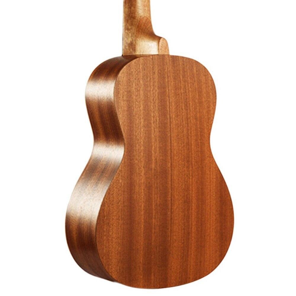 21 インチ プロフェッショナル サペリイルカパターン ウクレレ ギター マホガニーネック チューニング ペグ 4弦 ウッド ギフト_画像4