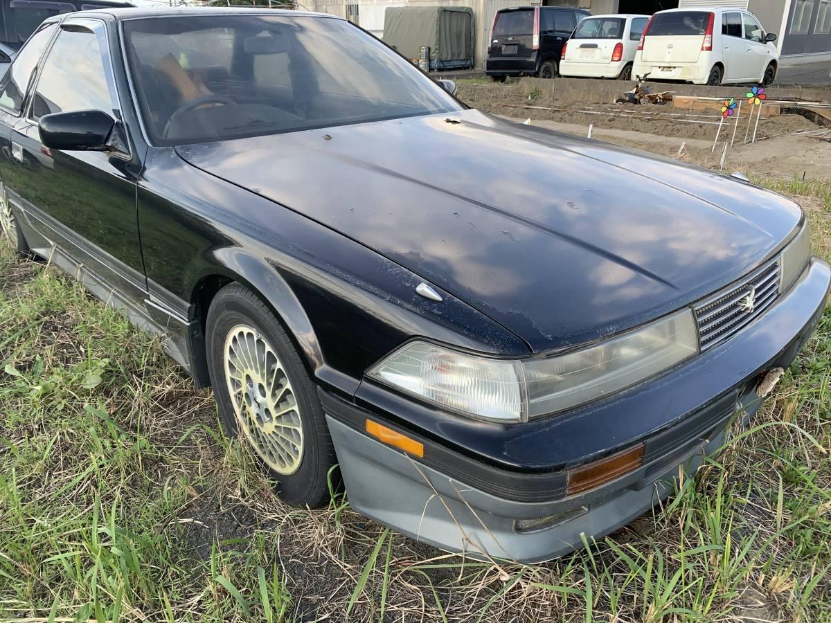 「トヨタ ソアラ GTツインターボ 不動車 引き取り限定 諸費用込 書類車検証のみ」の画像1