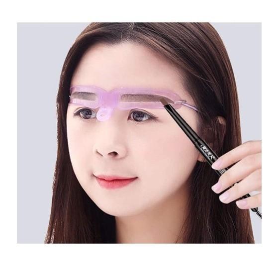 眉毛テンプレート 8種類 アイブロウペンシル セット