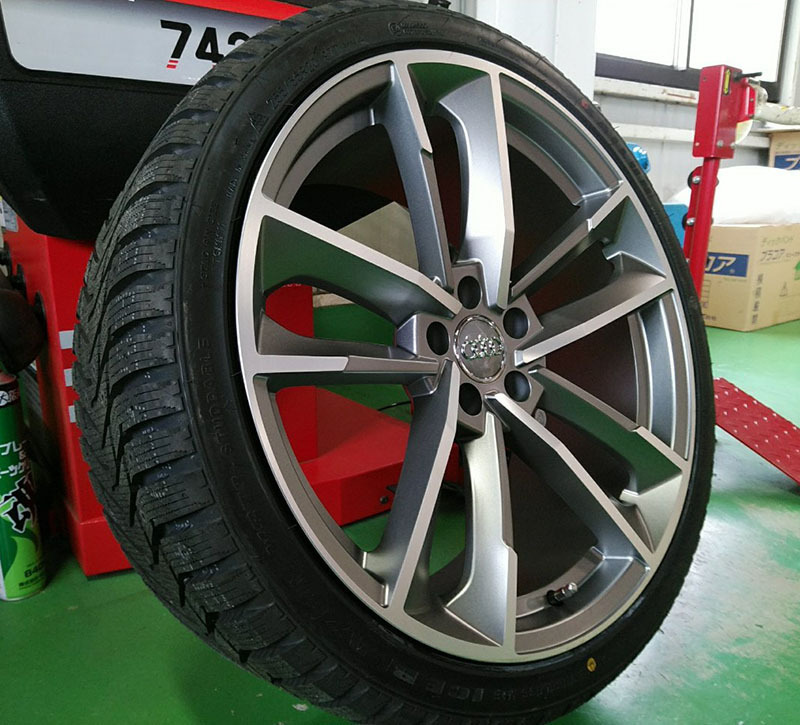 Audi スタッドレス タイヤホイール 展示品 20インチ SAILUN WST3 255/35R20 翌日発送 アウディ A5(8T) A6(4F/4G) A7(4G) A8(4E/4H) TT(8J)_画像2