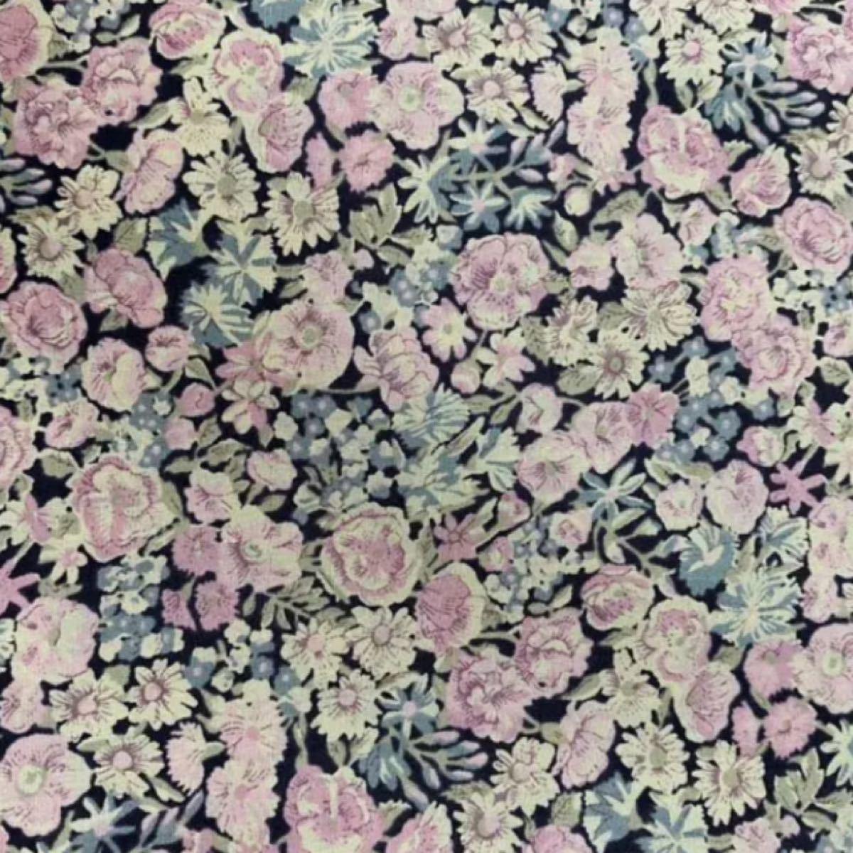 リバティ チャイブ スモーキーピンク 生地幅×50cm   タナローン  はぎれ 生地 CHECK&STRIPE  LIBERTY
