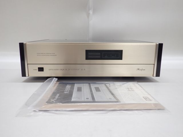 Accuphase DAC D/Aコンバーター DC-81 アキュフェーズ 説明書・カタログ付 ∬ 5E4D1-10_画像1