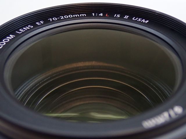 美品 CANON EF70-200mm F4L IS II USM キャノン 中望遠ズームレンズ 元箱・ソフトケース・取説付 ∂ 5ED6B-3_画像5